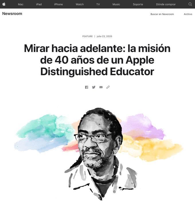 Mirar hacia adelante - la misión de 40 años de un Apple Distinguished Educator
