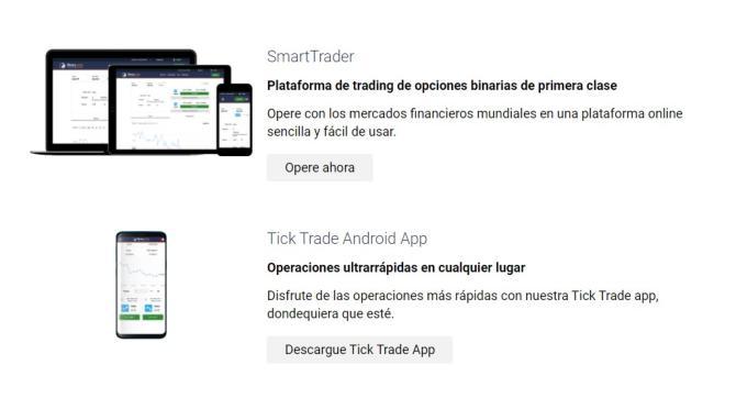Binary.com aplicación móvil