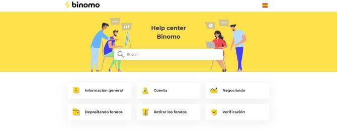 Help center Binomo